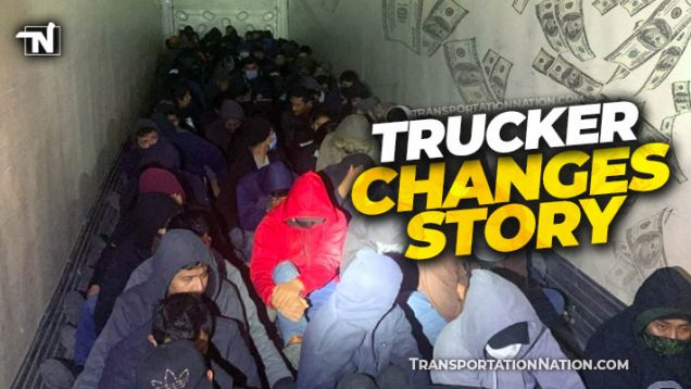 $25,000 Smuggling Haul – Trucker Changes Story