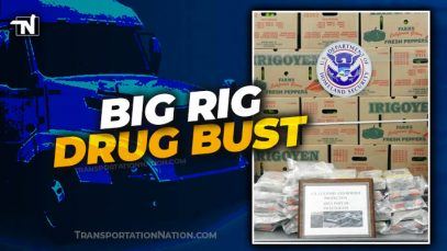 Big Rig Drug Bust in load of peppers and watermelons