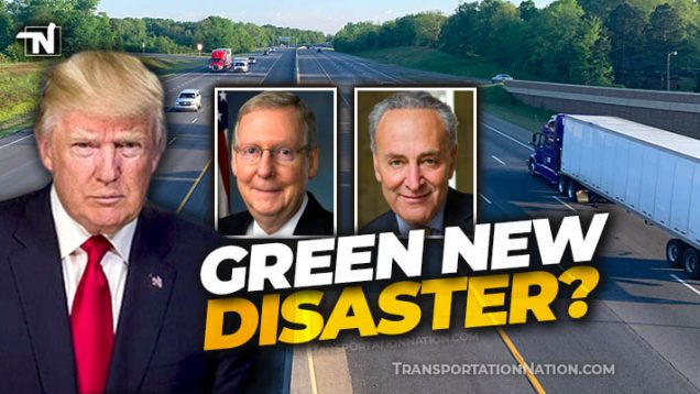 TRUMP blasts McConnell and GOP for Green New Deal Disaster