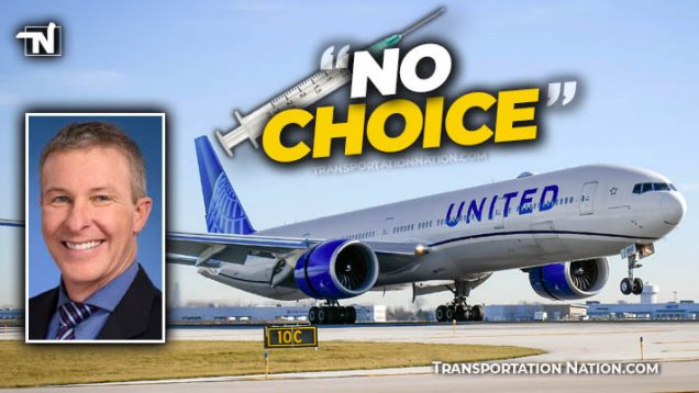 United Airlines CEO says NO CHOICE but to mandade vaccine