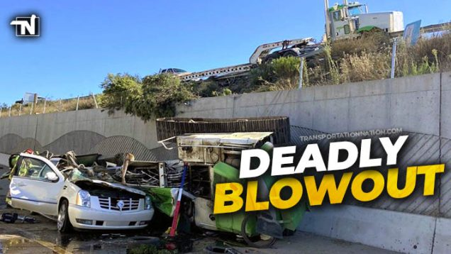 Deadly Blowout Highway 101 Nipomo California