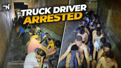 Truck Driver Arrested