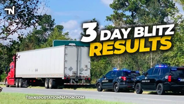 3 day blitz results – October 2021