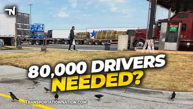 80,000 Drivers Needed?