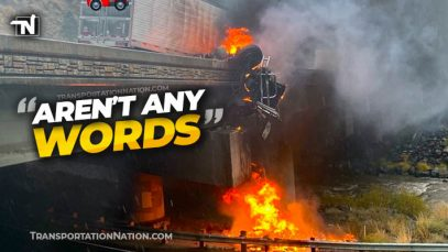 CHP Truck Fire – Aren't Any Words